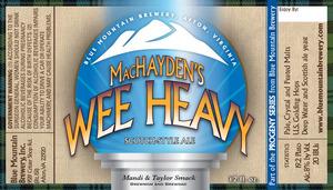 Blue Mountain Brewery Machayden's