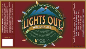 Blue Mountain Brewery Lights Out