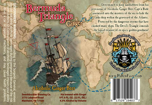 Swashbuckler Brewing Company Bermuda Triangle Ginger