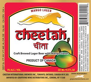 Cheetah Mango Lager