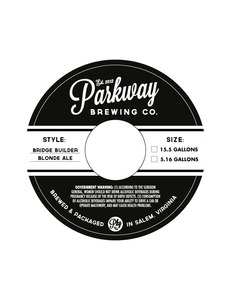 Bridge Builder Blonde Ale