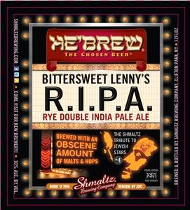 He'brew Bittersweet Lenny's Ripa