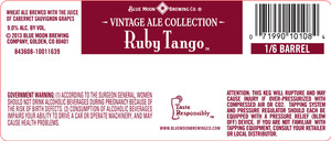 Blue Moon Brewing Co. Ruby Tango