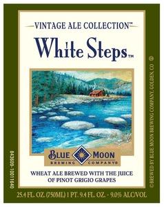 Blue Moon White Steps