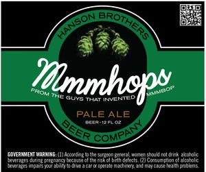 Hanson Brothers Beer Company Mmmhops