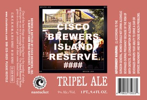 Cisco Brewers Tripel
