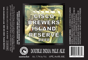 Cisco Brewers Double India Pale