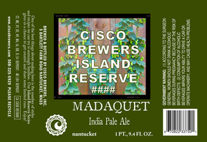 Cisco Brewers Madaquet