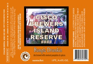 Cisco Brewers Rumple Drumkin