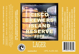 Cisco Brewers Lager