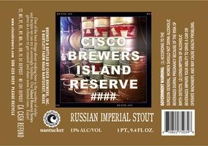 Cisco Brewers Russian Imperial