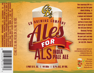 Cb's Ales For Als