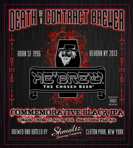 He'brew Death Of A Contract Brewer Black