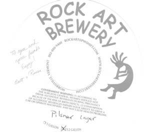 Rock Art Brewery Pilsner Lager