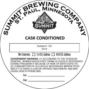 Summit Brewing Company Summer