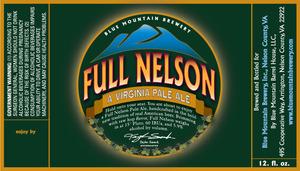 Blue Mountain Barrel House Full Nelson