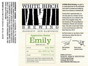 White Birch Brewing Emily