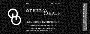 Other Half Brewing Co. All Green Everything