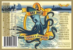 Dry Dock Brewing Vanilla Porter