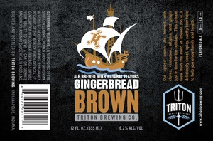 Triton Brewing Gingerbread Brown