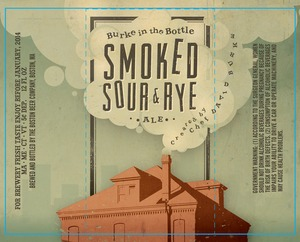 Burke In The Bottle Smoke, Sour & Rye