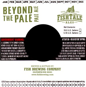Fish Tale Ales Beyond The Pale