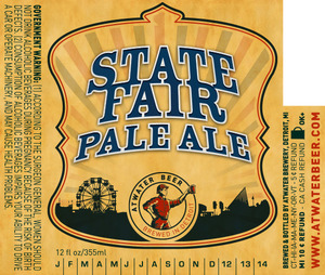 Atwater Brewery State Fair Pale