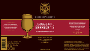 Widmer Brothers Brewing Company Brrrbon