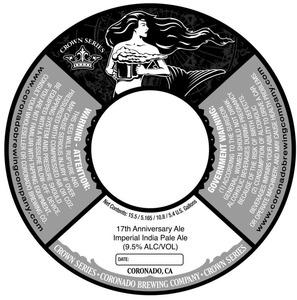 Coronado Brewing Company 17th Anniversary Ale