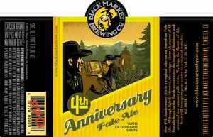 Black Market Brewing Co 4th Anniversary