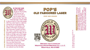 Pop's Old Fashioned Lager