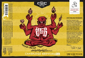 Cambridge Brewing Company Red God