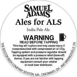 Samuel Adams Ales For Als