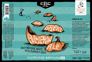 Cambridge Brewing Company Great Pumpkin