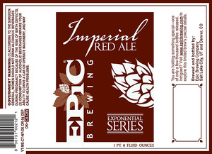 Epic Brewing Company Imperial Red