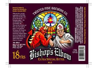 Twisted Pine Brewing Company Bishop's Elbow