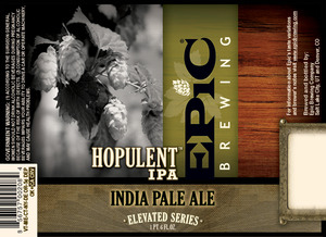 Epic Brewing Company Hopulent IPA