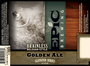 Epic Brewing Company Brainless Belgian-style