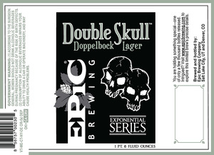Epic Brewing Company Double Skull Doppelbock