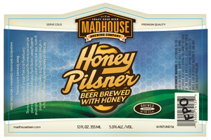 Madhouse Brewing Company Honey Pilsner