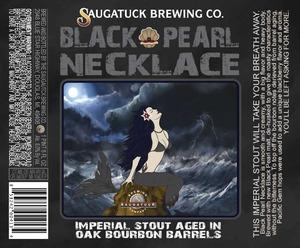 Saugatuck Brewing Company Black Pearl Necklace