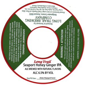 Long Trail Seaport Honey Ginger IPA