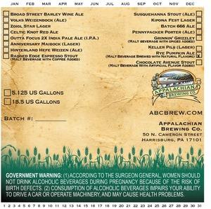 Appalachian Brewing Co Rye Pumpkin Ale