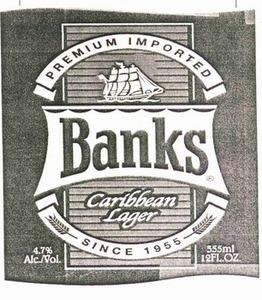 Banks Carribean Lager