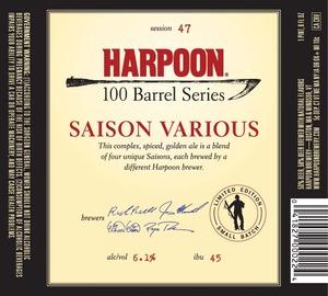 Harpoon Saison Various
