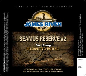 James River Brewing Seamus Reserve #2 - The Balrog