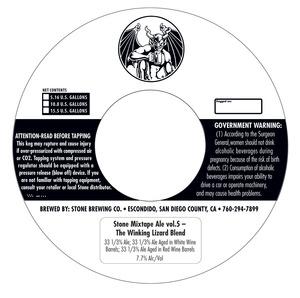 Stone Brewing Co Stone Mixtape Ale Vol 5