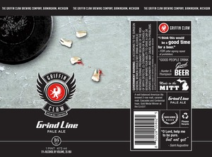 Griffin Claw Brewing Company Grind Line