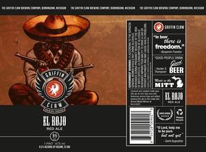 Griffin Claw Brewing Company El Rojo Red