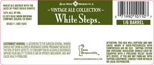 Blue Moon Brewing Co. White Steps